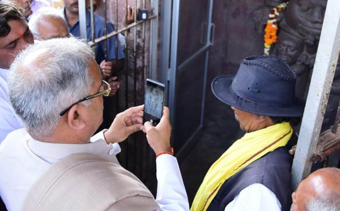 भगवान रुद्र शिव की प्रतिमा राज्य की समृद्ध धरोहर: श्री बघेल