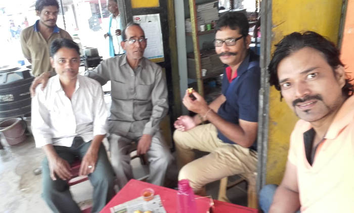 श्री कृष्ण दत्त उपाध्याय जी के साथ लेखक