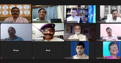 दक्षिण कोसल की रामलीला एवं उसका सामाजिक प्रभाव विषय पर अंतरराष्ट्रीय वेबिनार सम्पन्न