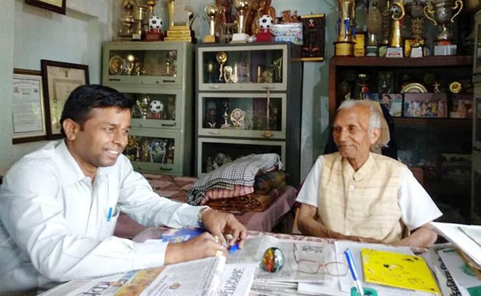 बस्तर का गाँधी कहलाने वाले ताऊ जी : पद्म श्री धर्मपाल सैनी